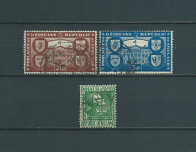 IRLANDE - 1949 YT 110 à 112 - TIMBRES OBL. / USED