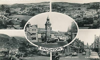 KNIGHTON in Multi-View Early RP Postcard