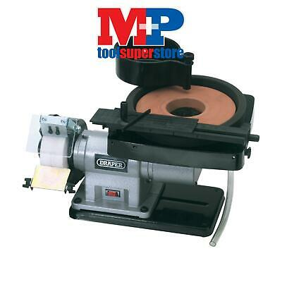 Draper 31235 Wet and Dry Bench Grinder (350W)