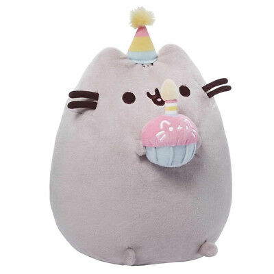 Gund Pusheen Birthday Plush NEW