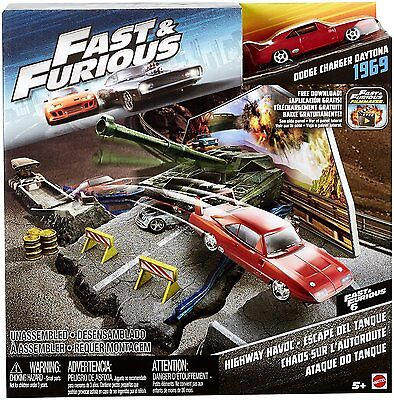Fast and Furious Street Scene Set - Highway Havoc  *BRAND NEW*