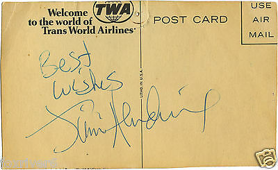 JIMI HENDRIX Signed Postcard - Legendary Rock Star Musician & Guitarist preprint