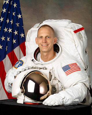 NASA Astronaut Clay Anderson WSS Portrait 11x14 Silver Halide Photo Print