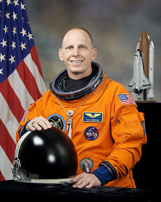 NASA STS-131 Astronaut Clay Anderson Portrait 11x14 Silver Halide Photo Print