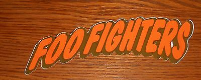 Foo Fighters Bumper Sticker Promo 7x2