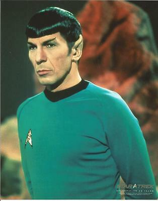 Star Trek Original Series Leonard Nimoy as Spock Standing Tall 8 x 10 Photo