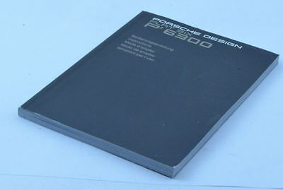 Porsche Design Manual Anleitung Flax Six Ref. 6300 2