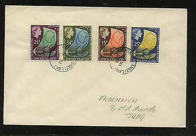 Swaziland   111-114  on  cover        JS1228