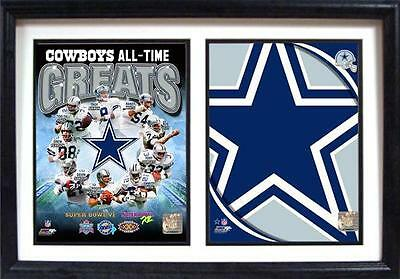 Dallas Cowboys Wood Double Wall picture 50 cm,Plaque NFL Football ,New