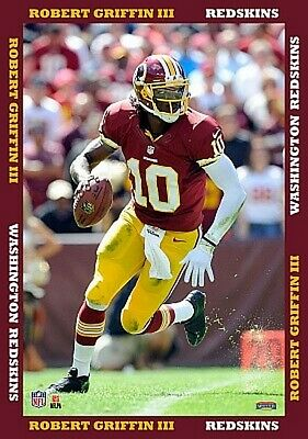 Robert Griffin III,Washington Redskins,Wall picture 53c,Canvas,NFL Football
