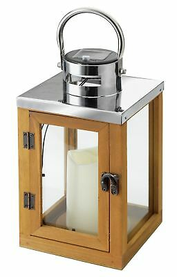 Heart of House Hanbury Solar Wooden Lantern.From the Official Argos Shop on ebay