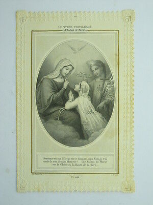 Holy Card Lacy-Child Of Mary-V8H-X81985