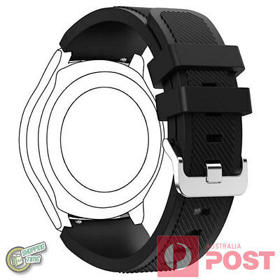 Genuine Original Samsung Gear S3 R760 Frontier Silicon Watch Strap Band ET-YSU76