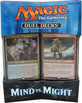 Mind vs. Might Magic the Gathering Duel Decks englisch MtG Dueldecks Dueldeck