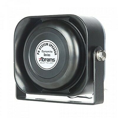 Abrams ABRS100 Compact 100W Siren Speaker High Performance (Capable with Any