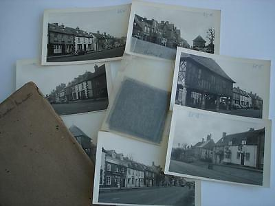 14 Original 1950s Negative and Photos of Wooton Bassett in Wilshire