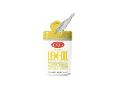 Kyser Lemon Oil Wipes KDS800W, 35 Wipes. Use Each Time You Change Strings
