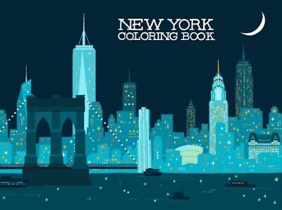 New York Coloring Book (Paperback), Min Heo, 9781623260514