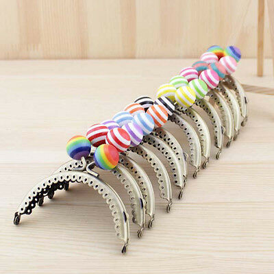 Hot Metal Frame Kiss Clasp  For Purse Handle Bag Candy Bead head 8.5CM/3.34inch