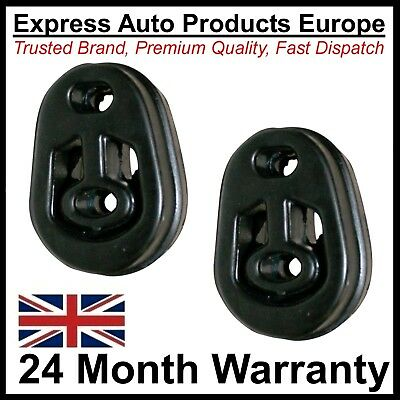2 x Exhaust Mount Rubber Hanger for FORD 6162002 or 86AB5A262AA