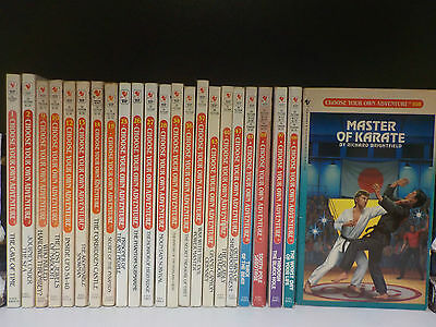 'Choose Your Own Adventure' (Bantam Books) - 23 Books Collection! (ID:45394)