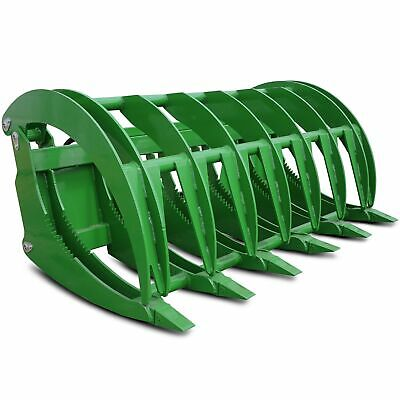"Titan 72"" HD Root Grapple Rake Attachment fits John Deere Loaders"