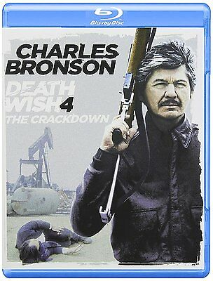 Death Wish 4: The Crackdown (Blu-ray) Charles Bronson NEW