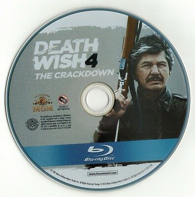 Death Wish 4: The Crackdown (Blu-ray disc) Charles Bronson