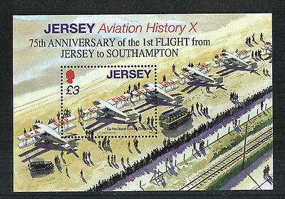 Jersey 2009 Airplanes ss--Attractive Transportation Topical (1356) MNH