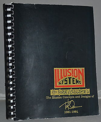 ILLUSION SYSTEMS The First Collection Paul Osborne 286p. of Magic Tricks Genii