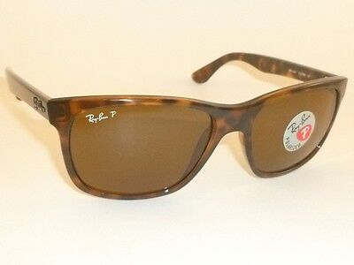 78fa1419aa New RAY BAN Sunglasses Tortoise Frame RB 4181 710 83 Polarized Brown Lenses