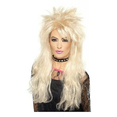 80s Long Mullet Wig Costume Accessory Adult Halloween