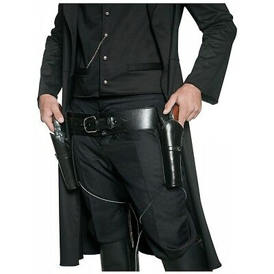 Authentic Western 2 Holsters & Belt Costume Accessory Adult Halloween
