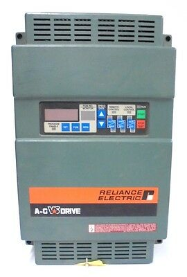 Reliance Electric, A-C Vs Drive, Gp2000, 2Gu41007, 8.8 Kva  7.5 Hp, 460 Vac