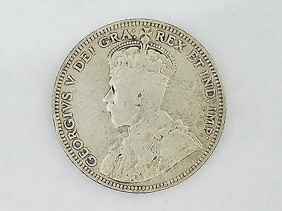 1912 Silver Coin 0.900 New Foundland 20 Cents - 5525