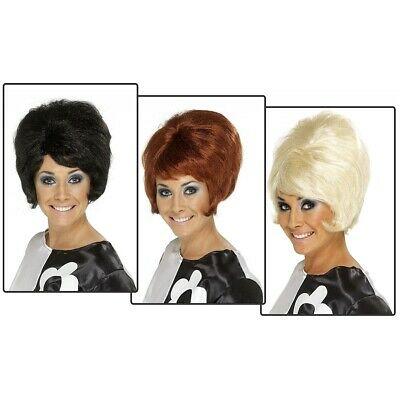 Beehive Wig Adult 60s Costume Halloween Fancy Dress