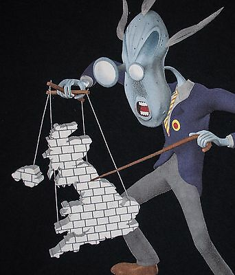 T Shirt PINK FLOYD THE WALL Image TEACHER W BRICK MARIONETTE Adult SMALL