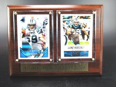 Luke Kuechly Carolina Panthers Wood Wall Picture 20 cm,Plaque NFL Football