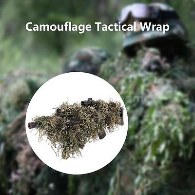 Camouflage Hunting Tactical Wrap Cover Concealment for Ghillie Paintball Game