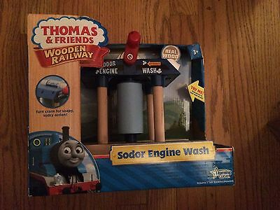 LC99276 Sodor Engine Wash for the Thomas Wooden Railway System New in Box!