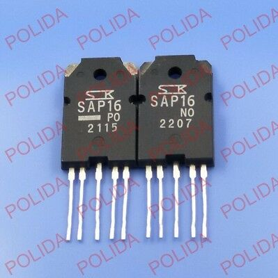 1PAIR SANKEN TO-3PL-5 SAP16NO/SAP16PO SAP16N/SAP16P 100% Genuine and New