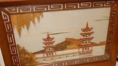 Japanese Temple Stencil Paper, Leather Or Cork Cut Painting