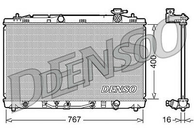 Denso Radiateur drm50030 remplacement 16400ad010