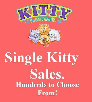 Vintage 1994 M.E.G. Toys ~ Kitty in my Pocket 01-24 ~ LOADS TO CHOOSE FROM HERE!