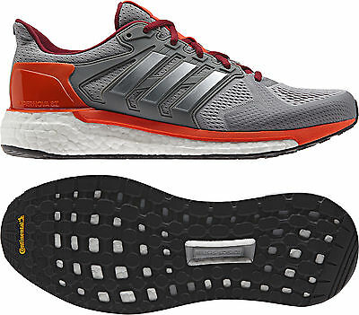 adidas Supernova ST Boost Mens Running Shoes - Grey