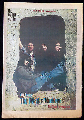 The Magic Numbers - The Event Guide. Ireland 18Th-31St May 2005.