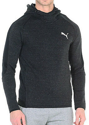Puma Evostripe Proknit Overhead Mens Hooded Top - Black