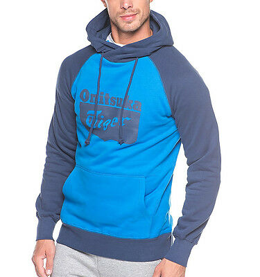 Asics Onitsuka Tiger Pull Over Hoody - Blue