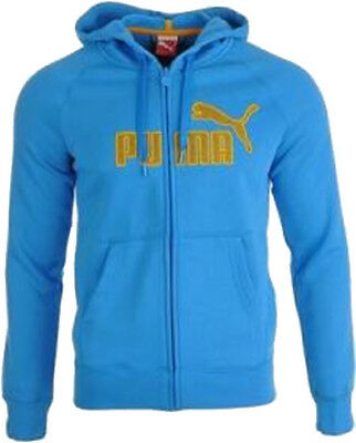 Puma Poseidon Full Zip Up Men Fleece Hoody