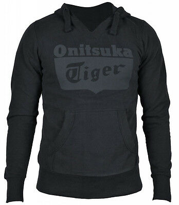 Asics Onitsuka Tiger Basic Core Mens Hoody - Black